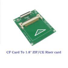 """CF Compact Flash Card per 1.8"""" HDD ZIF/CE Adattatore Per iPod 5G 6G Toshiba CE Video"""
