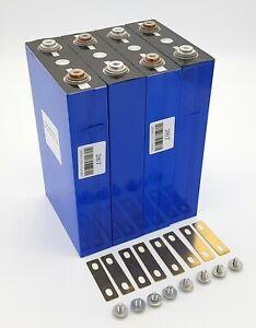 SolarLock 4x 3.2V 100Ah LiFePO4 Akku 12.8V Lithium-Eisenphosphat Batterie