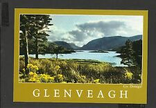 John Hinde Postcard Glenveagh Beautiful Valley in Co. Donegal Ireland Unposted