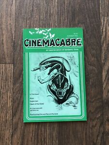 Cinemacabre 1978 Sci-Fi Fanzine Issue #2 feat Alien, Superman, Dawn of the Dead