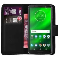 Case Cover For Motorola Moto G6 G7 G8 Play Plus Power Flip Leather Wallet Phone
