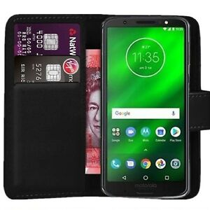 Case Cover For Motorola Moto C Plus / C Magnetic Flip Leather Wallet Phone book