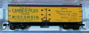Atlas N #50001757 Wisconsin Canners Association 40' Wood Reefer (Rd #40626)