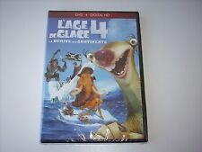 """(1)DVD +DIGITAL HD """"L'AGE DE GLACE 4 LA DERIVE DES CONTINENTS"""" NEUF SOUS BLISTER"""
