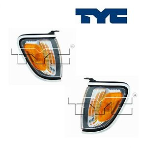 2PCS TYC Parking Light Assembly Fit 2001-2004 Toyota Tacoma