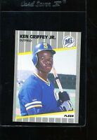 1989 Fleer Ken Griffey Jr. #548 Baseball Card