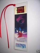 FANTASIA Disney Classic Rare Movie Film Cell Bookmark