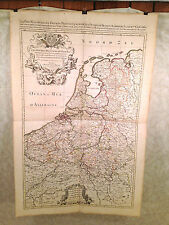 A Hubert Jaillot N Sanson 1692 Large Map of France Spain and Provinces