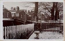 Rushton near Tarporley. Snow Scene.