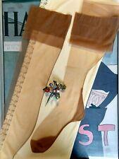 vintage nylon stockings with seams - Size 10 M