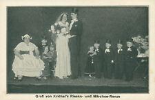 Ansichtskarte Krichel's Riesen- Märchen-Revue Aschersleben  (Nr.838)