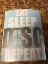"8"" Disc Golf Vinyl Decal"