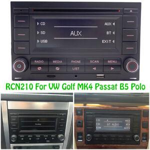 Autoradio RCN210 Bluetooth SD CD Player USB MP3 für VW Passat B5 Jetta Golf MK4
