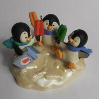 2008 Keepsake Hallmark Christmas Ornament Cool Treats Penguins QXG7071 w/ Box