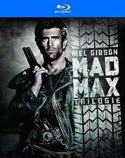 MAD MAX 1 2 3 TRILOGIE 1-3 MEL GIBSON  BLU RAY UNCUT DEUTSCH