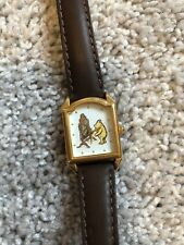 Vintage Winnie The Pooh Watch by Ingersoll Classic Pooh Leather Rare