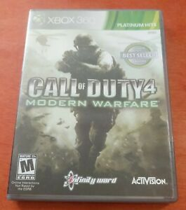 Call Of Duty 4 Modern Warfare Microsoft Xbox 360 Activision Infinity Ward