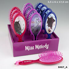 NEW MISS MELODY HAIRBRUSH/HORSES DREAMS