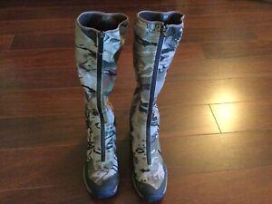 NWT $220 Under Armour Ridge Reaper Barren Camo Goretex Hunting Boots 10.5 Gaiter