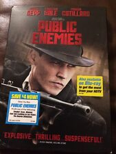NEW Public Enemies (DVD, 2009) Johnny Depp Also Has Slipcover