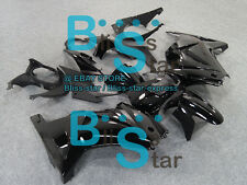 All black Injection Fairings Bodywork Kit Kawasaki Ninja 250R EX250 08-12 68 A2