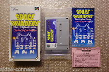 "Space Invaders ""Very Good Condition"" Nintendo Super Famicom SFC Japan"