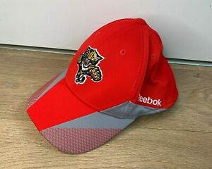 Official NHL Florida Panthers Cap Hat- Reebok Centre Ice Collection- L/XL