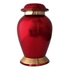 Funeral Urns for Ashes, Reading Ruby Red Mini Keepsake Memorial UrnFuneral Urns