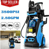 3800PSI 2.8GPM Electric Pressure Washer,High Power Cleaner Water Sprayer Machine