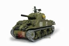 2.4Ghz 1/16 Us M4A3 Sherman 105mm Howitzer Upgrade Super Metal w/Smoke & Sound