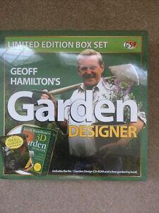 Geoff Hamilton Garden Designer Limited Edition Box Set New & Sealed CD-Rom Book