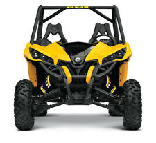 SHOCK COVER,PROTECTEUR D'AMORTISSEUR,UTV,BOMBARDIER MAVERICK MONSTER YELLOW