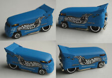 "Hot Wheels – VW drag autobús Matt azul ""hoja de placer"""