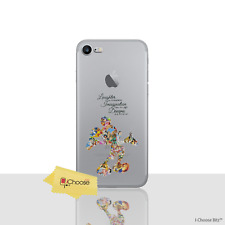 "Disney Case/Cover for iPhone 8 (4.7"") / Screen Protector / Gel / Disney Quote"