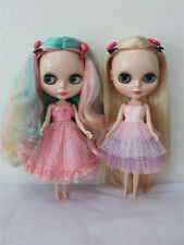"12"" Neo Blythe doll outfits from factory gallus princess dress hand made clothes"