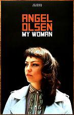 Angel Olsen My Woman Ltd Ed New Rare Poster +Free Indie Rock Folk Poster!