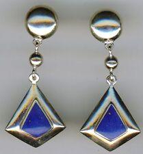 Unbranded Lapis Lazuli Sterling Silver Fine Earrings