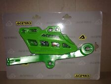 KAWASAKI KXF 250 2009-2017 CATENA Block GUIDA PATTINO SCORREVOLE KIT SET Verde