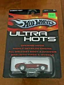Hot Wheels 2005 Ultra Hots Cobra 427 S/C Real Riders Maroon