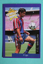 PANINI ESTRELLAS EUROPEAS 1996  N. 40 BARCELONA FIGO MINT!!!