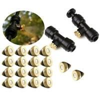 1/4'' Slip-lok Nozzle Cooling System Hose Solid Brass Home Tee With Body Pl H2P6