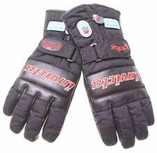 INVICTA Mens Ski Gloves Size 8 1/2 Large Black Polyester Vintage  C007