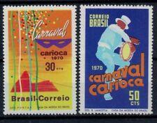 Brazilie mi 1247-1248 (1970) plakker - mh - x