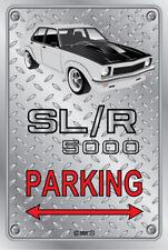 Parking Sign - Metal - Holden Torana SLR 5000 WHITE -  ORIGINAL RIMS