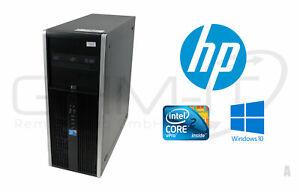 HP Compaq Elite 8000 Intel Core2 E8400 4GB RAM 320GB HDD Win10 Pro Intel Q43/Q45