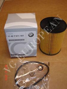 BMW E60 5-Series, E63 E64 6-Series Genuine Engine Oil Filter Kit NEW 545i 645ci