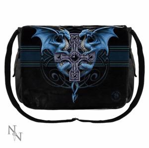 Dragon Duo Gothic Fantasy Messenger Bag Anne Stokes Nemesis Now 40cm