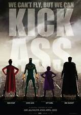 KICK-ASS Movie POSTER 27x40 Norwegian Nicolas Cage Aaron Johnson Chloe Moretz