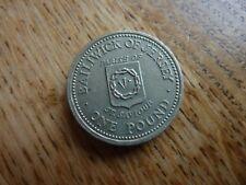 Jersey Pound £1 1984 PARISH of ST SAVIOUR A/UNC Light Usage Only