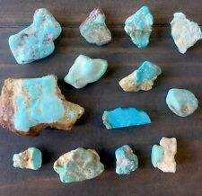 Natural Royston Nevada Turquoise Rough Lot.  Big Pieces, 425 Carats.